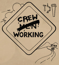 crew working graphic